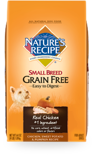 Small Breed - Chicken, Sweet Potato & Pumpkin Recipe - Grain Free - Ultra Premium - Natures Recipe®