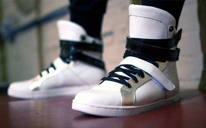 100e6026f3607 Super Shift White Gym Sneaker Image 5 | Dress Up | Sneakers, Gym ...