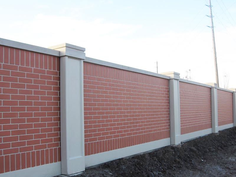 AFTEC concrete fences can be made to mimic the look of a number of ...