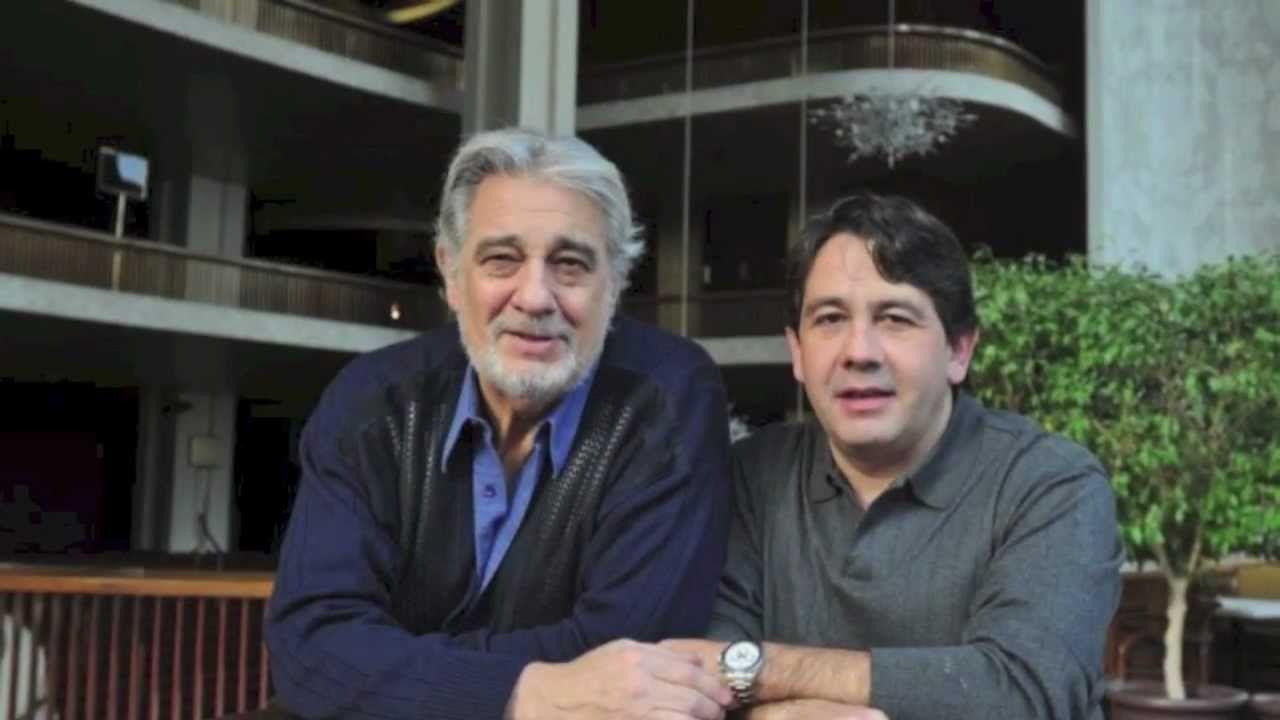 Plácido Domingo e P. Domingo Jr.- tenores