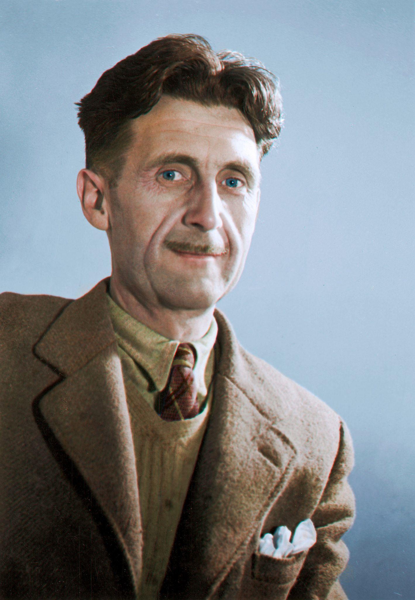 Orwell c 1940 orwell orwell colorized