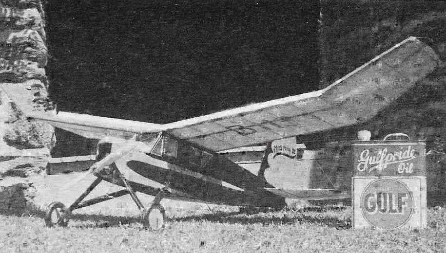Miss Philadelphia Iv Vintage Model Aeroplane Photos Adverts