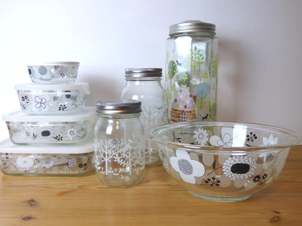 Hatsukoi Modern Japanese Kitchenware Storage Dishes Kitchenware Glass Kitchenware Glass Storage