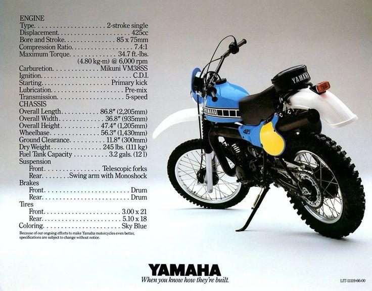 1980 yamaha it425 specs enduro motorcycle  yamaha bikes dirt bike engine diagram dirt bike engine diagram dirt bike engine diagram dirt bike engine diagram