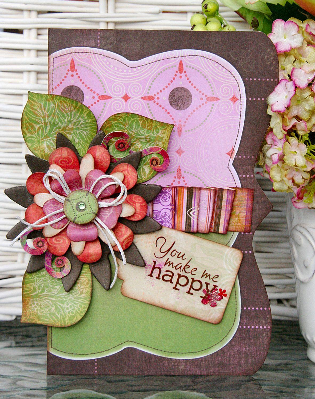 Открытки флористические своими руками, цветы доброго утра