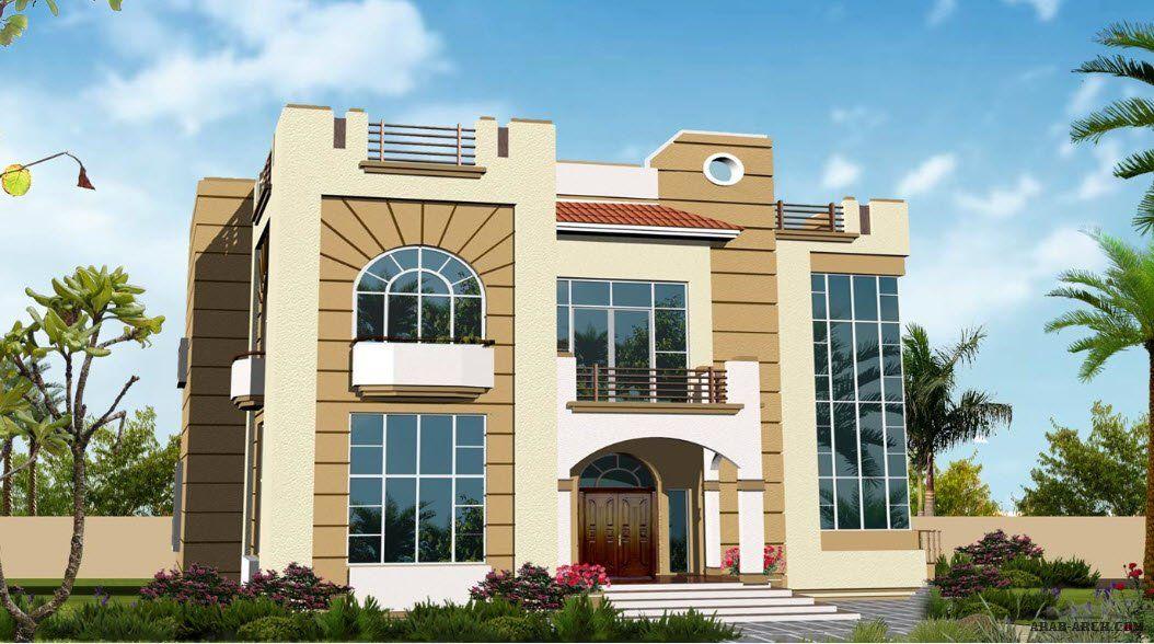 تصاميم الفيلا Ns 04 غرف نوم 5 ابعاد المسكن 17 60م عرض 19 40م عمق Model House Plan House Architecture Design House Layout Plans