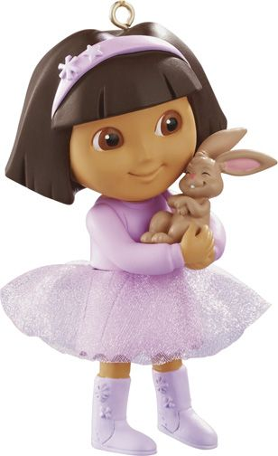 2013 Dora The Explorer Carlton Ornament Hallmark Ornaments