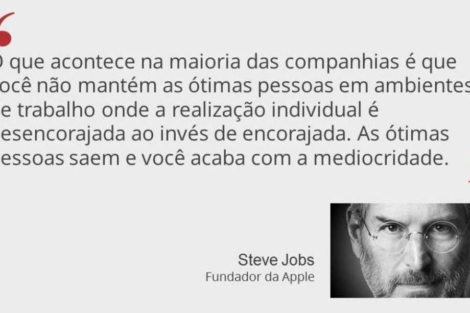 bc02ba7bf3d 30 frases de Steve Jobs para você se inspirar | Pensamentos Bons ...