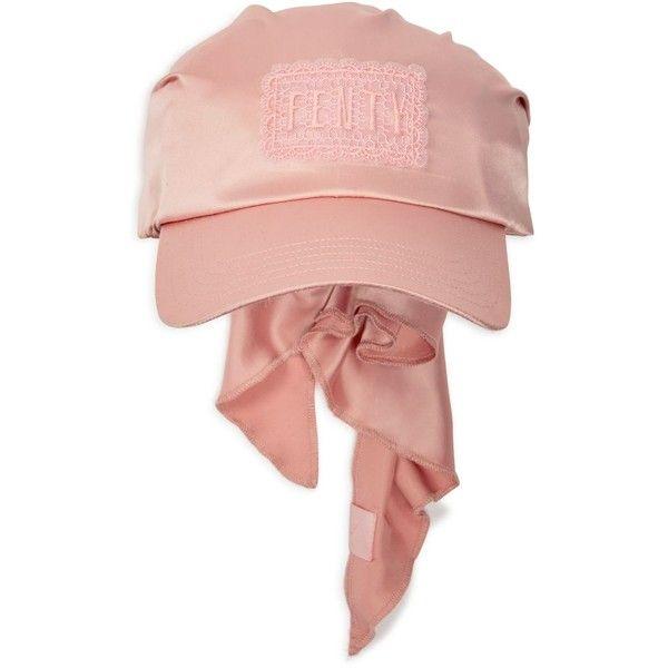 939bbf00 Fenty Puma x Rihanna Bandana Cap ($105) ❤ liked on Polyvore featuring  accessories, hats, bandana cap, bandana hat, pink handkerchief, pink  bandana and puma ...