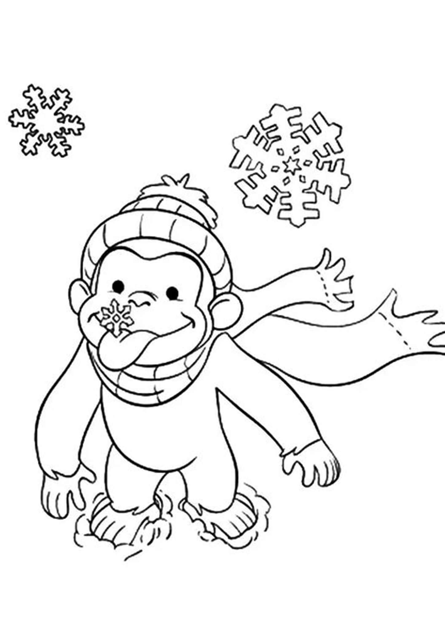 Free Easy To Print Curious George Coloring Pages In 2021 Curious George Coloring Pages Coloring Books Coloring Pages