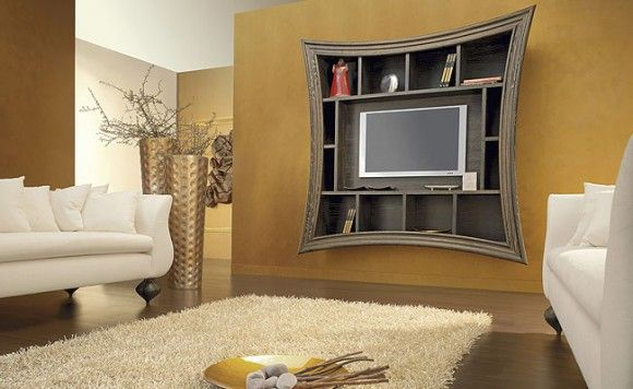 Striking Ideas For Wall Mounted TV Designs. Make A Wall Mounted TV A Focal  Point Of Your Living Room. Modern And Chic Ways To Install TV.