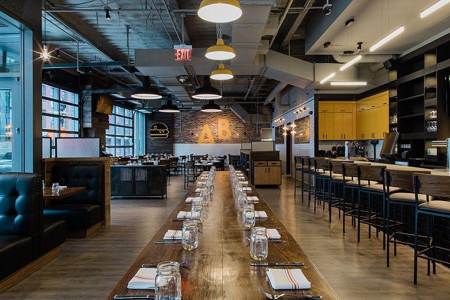 Look Inside the New A&B Burgers on Causeway Street