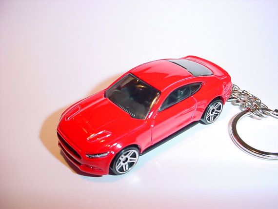 D  Ford Mustang Gt Custom Keychain By Brian Thornton
