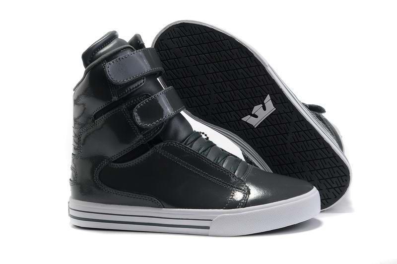 Supra TK Society Womens Dark Grey Patent White This site sells shoes half  off! Justin Bieber ...
