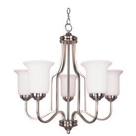 Bel air lighting 5 light brushed nickel chandelier for condo bel air lighting 5 light brushed nickel chandelier mozeypictures Images