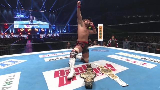 Tetsuya Naito Becomes Dual Iwgp Heavyweight Intercontinental Champion At Njpw Wrestle Kingdom 14 This Year S Via Ww Wrestle Kingdom Njpw Japanese Wrestling