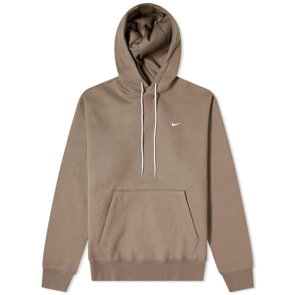 Nike Nrg Premium Essential Hoody Olive Grey End Kitsune Maison Kitsune [ 1000 x 1000 Pixel ]