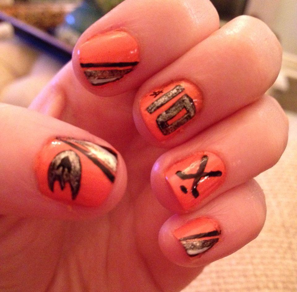 Anaheim Ducks!! | Nails | Pinterest | Anaheim ducks