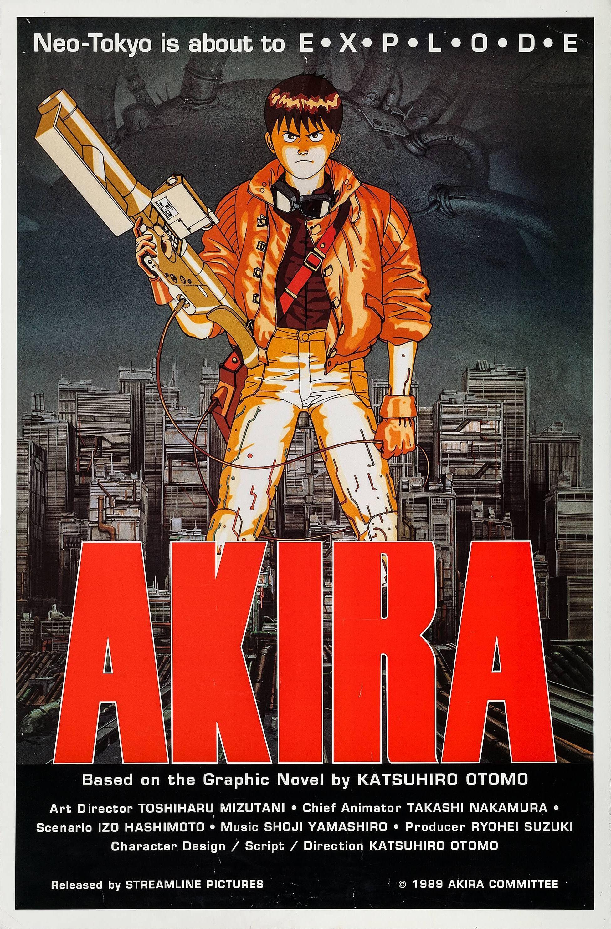 Akira 1988 in 2020 akira poster akira anime akira film