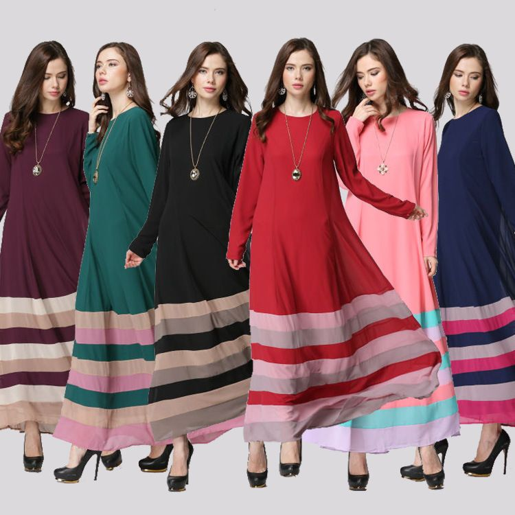 ec4d12f25e73a 2015 New abaya islamic clothing for women fashion colorful plus size ...