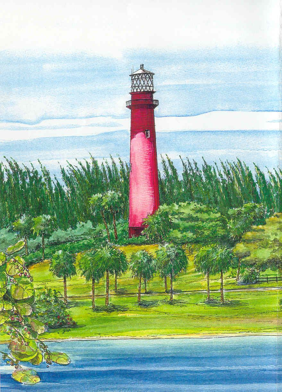 Jupiter Lighthouse, Jupiter, Fla. Palm beach gardens