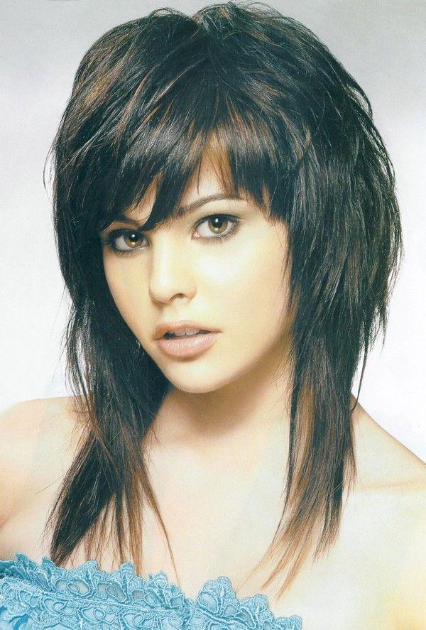 fine hair shaggy hairstyles for thin Haircuts Pinterest Corte