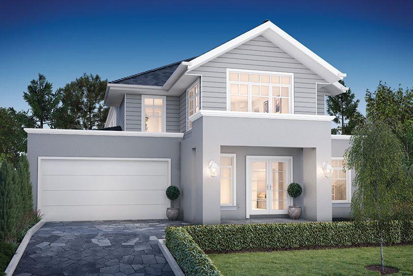 House design waldorf b porter davis homes beauty - Modern weatherboard home designs ...