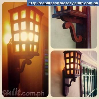 Filipino Style Lamp Philippines Pinoy Pilipinas Home House Interior Design Light Lamp Decor Detail Philippine Architecture Wall Lights Bahay Kubo