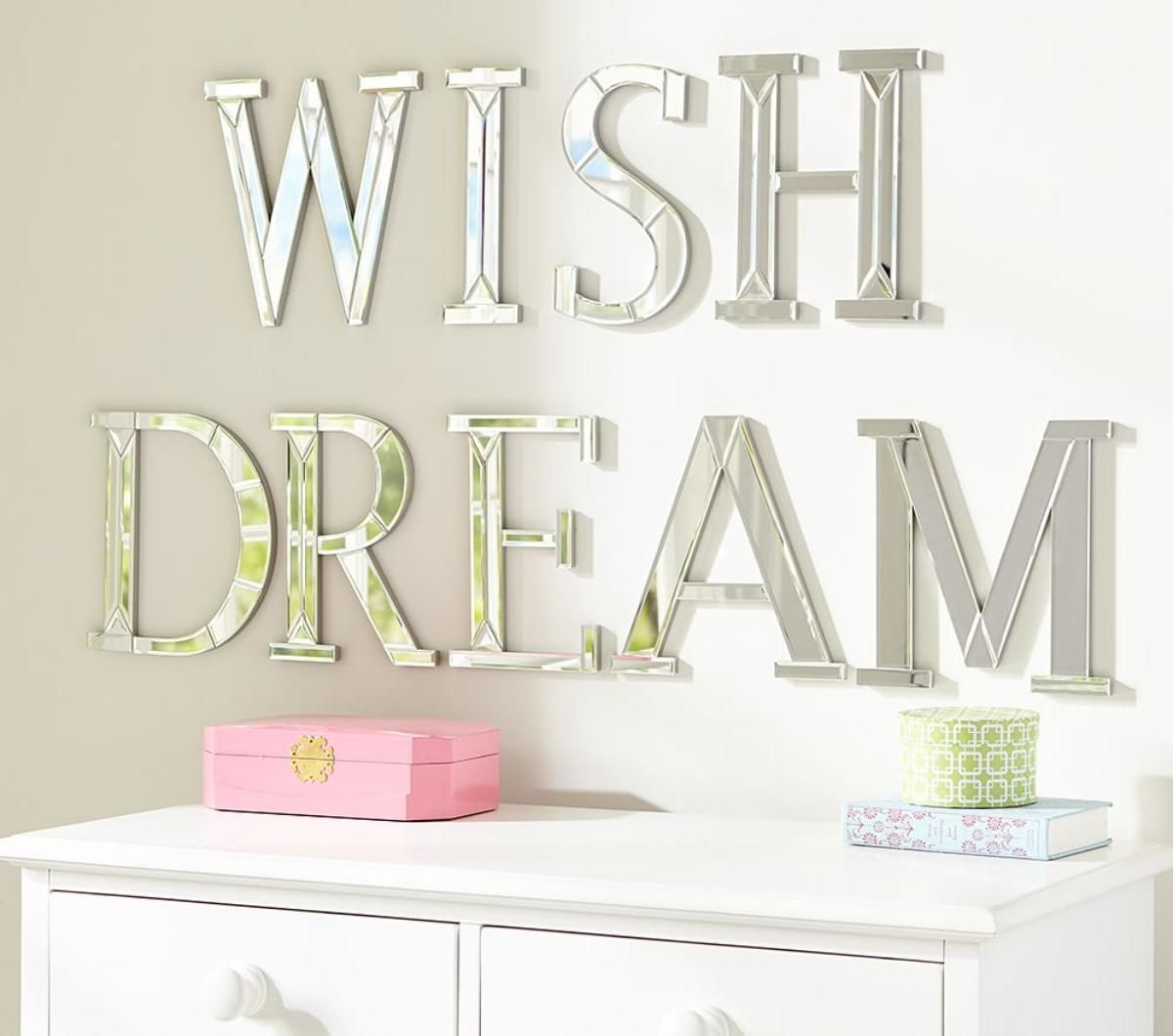 Mirrored wall letters gallery home wall decoration ideas mirrored wall letters nursery pinterest nursery mirrored wall letters amipublicfo gallery amipublicfo Images