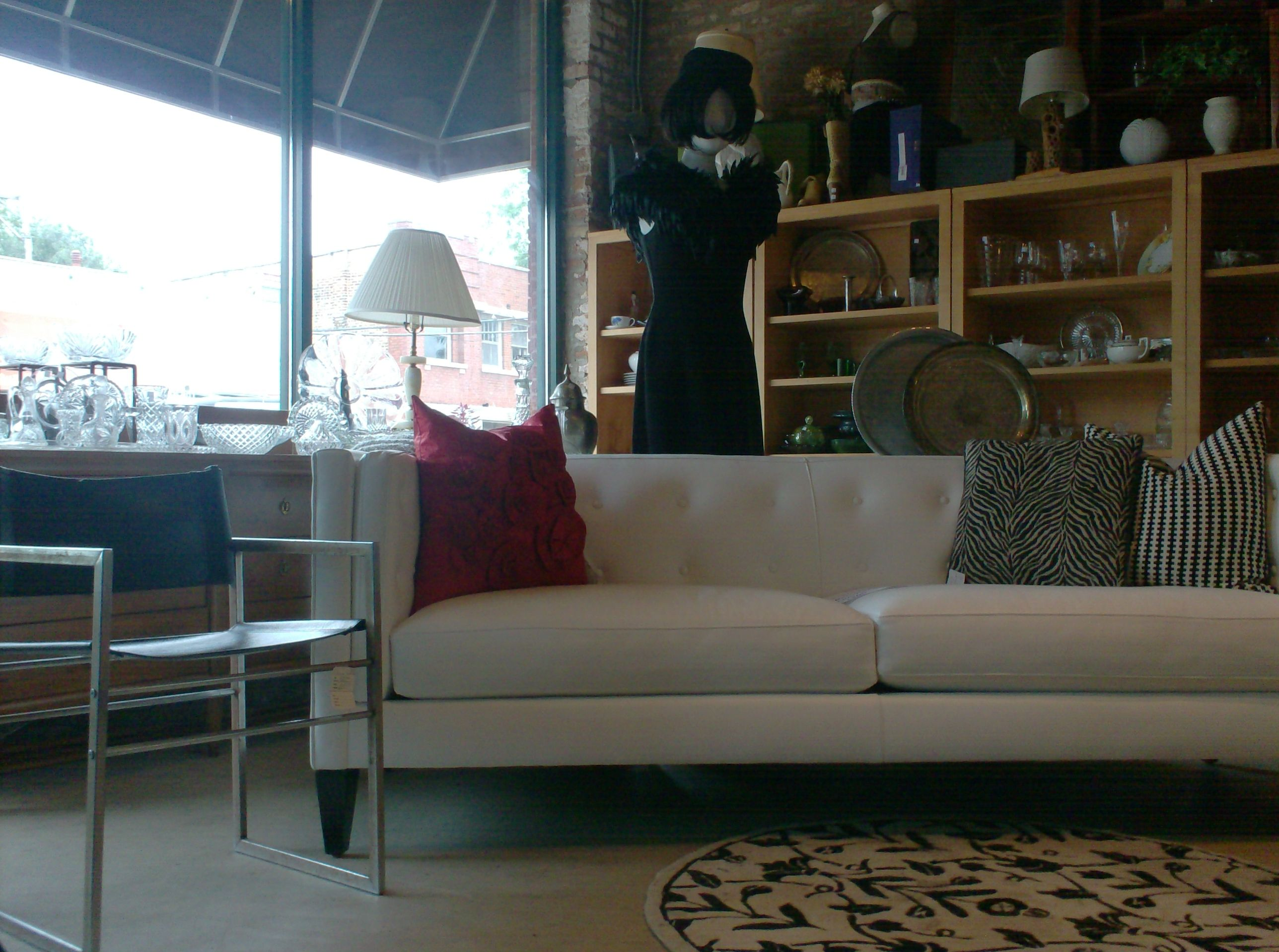 Remarkable Crate And Barrel White Leather Sofa Chris Kole Couture Dress Gmtry Best Dining Table And Chair Ideas Images Gmtryco