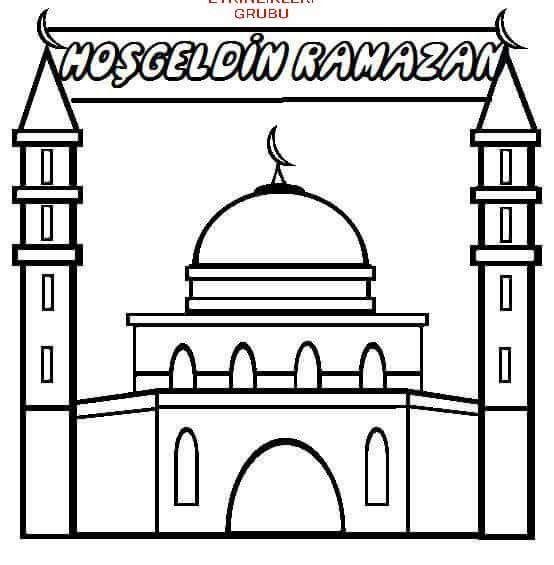 Cami Boyama Ramazan Oruc Etkinligi Yildizli Okul Oncesi Etkinlikleri Facebook Grubunda Ve Instegram Yildizli Aktiviteler Hesabimda Dah Ramazan Okul Oncesi Okul