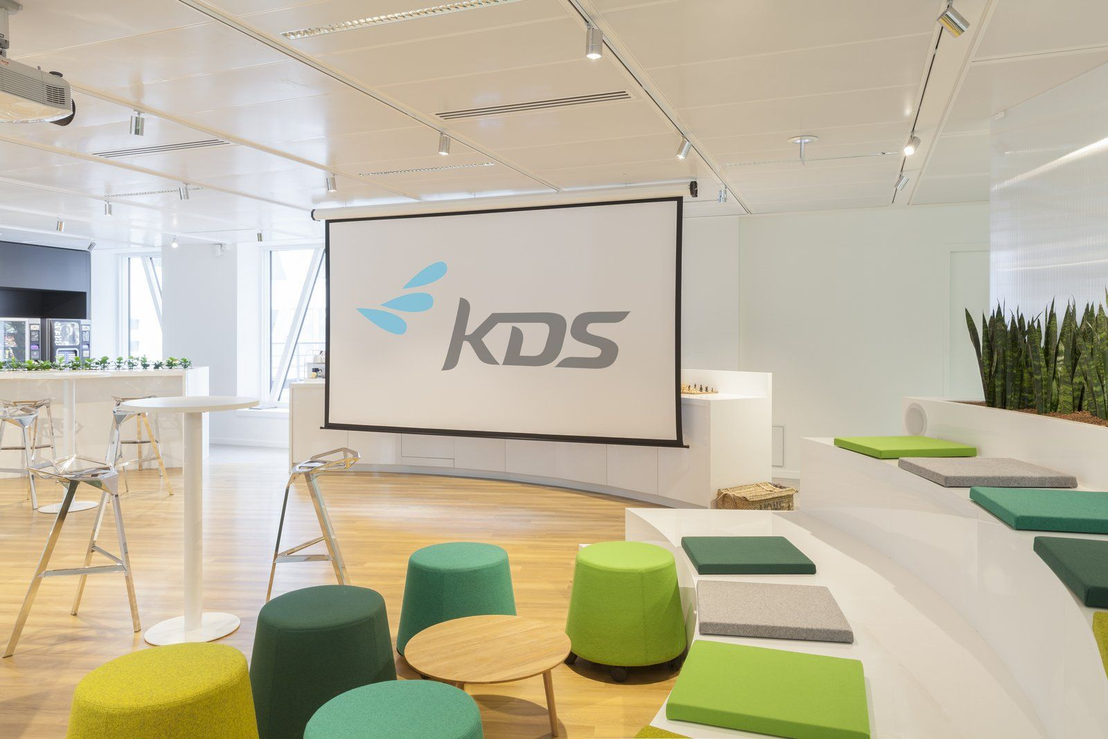 Bureau Professionnel Zen Kds Office Design 11 Interior Corporate Branding