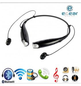 Bluetooth Headset Stereo Wireless Neckband. Compatible with most Bluetooth-enabled devices.