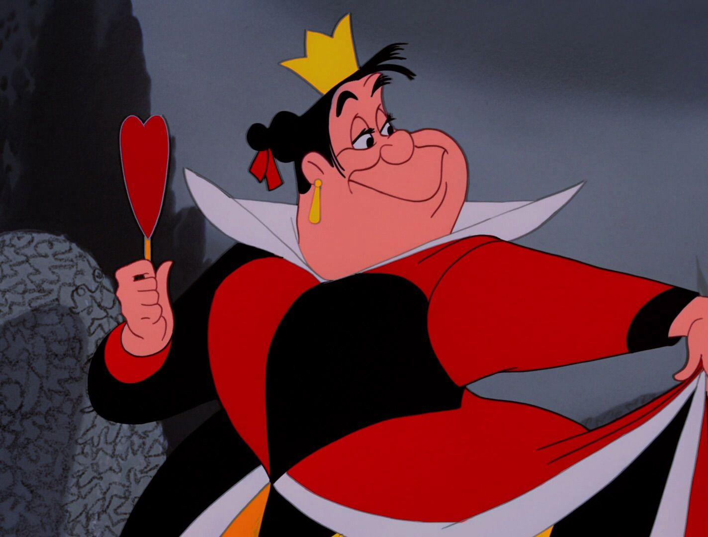 Risultati immagini per regina di cuori alice | Cattivi di disney ...