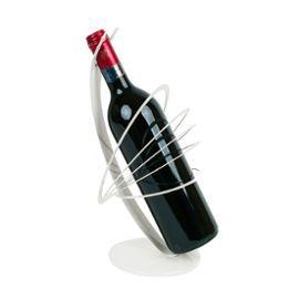 PorteBouteille Design Cercles Blancs Satellite Amateur De Vins - Porte bouteille design