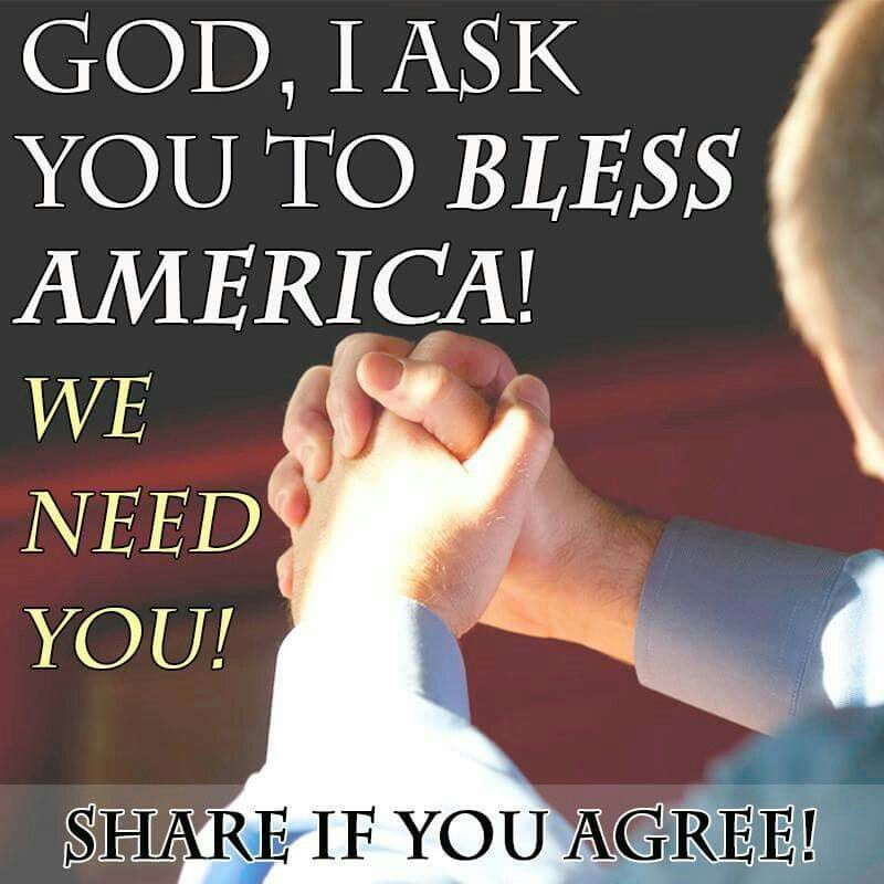 JESUS American people and our country need YOU!  AMEN! ♡