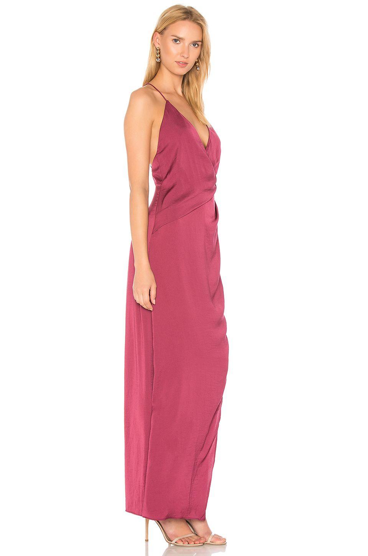 STYLESTALKER Livia Maxi Dress in Berry   REVOLVE   PR0M   Pinterest
