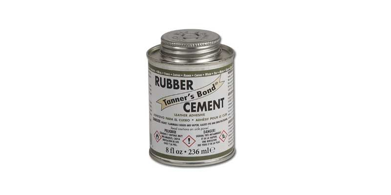 Tanners Bond Rubber Cement 8 Oz Rubber Cement Tandy Leather Rubber