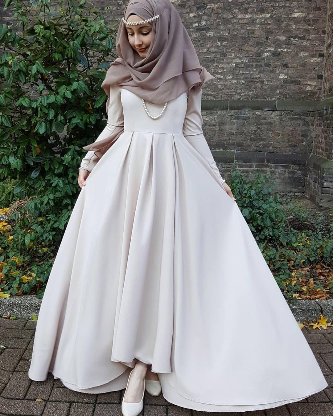 Pin By Tazkia Khan On Islamic Dresscode Hijab Dress Party Hijab