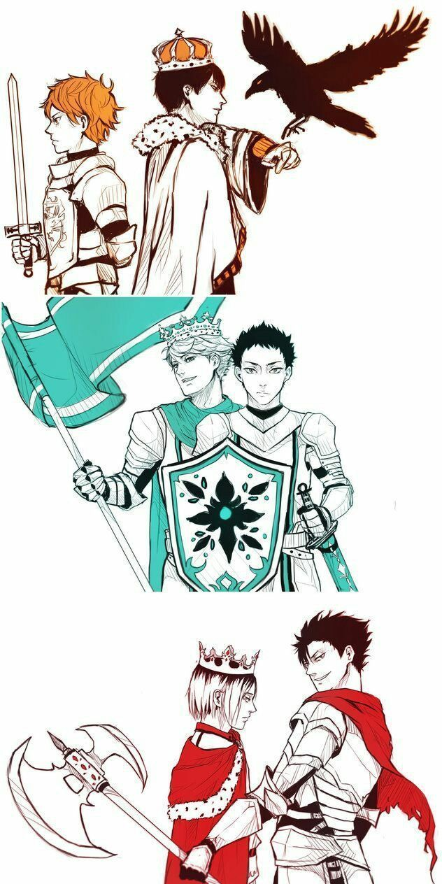 Pictures Of Different Haikyuu Ships  - 100