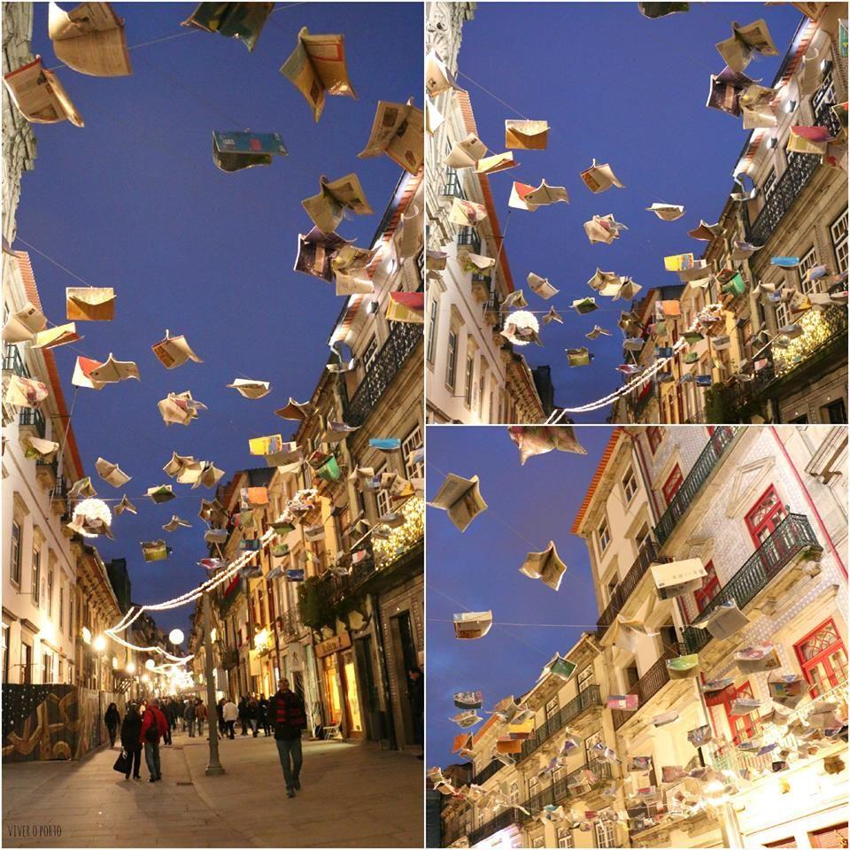há livros voadores no Porto 1