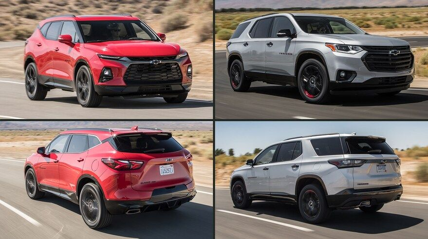 Chevy Blazer Vs Chevy Traverse What S The Difference Between These Two Suvs Chevrolet Traverse Chevy Chevrolet Blazer