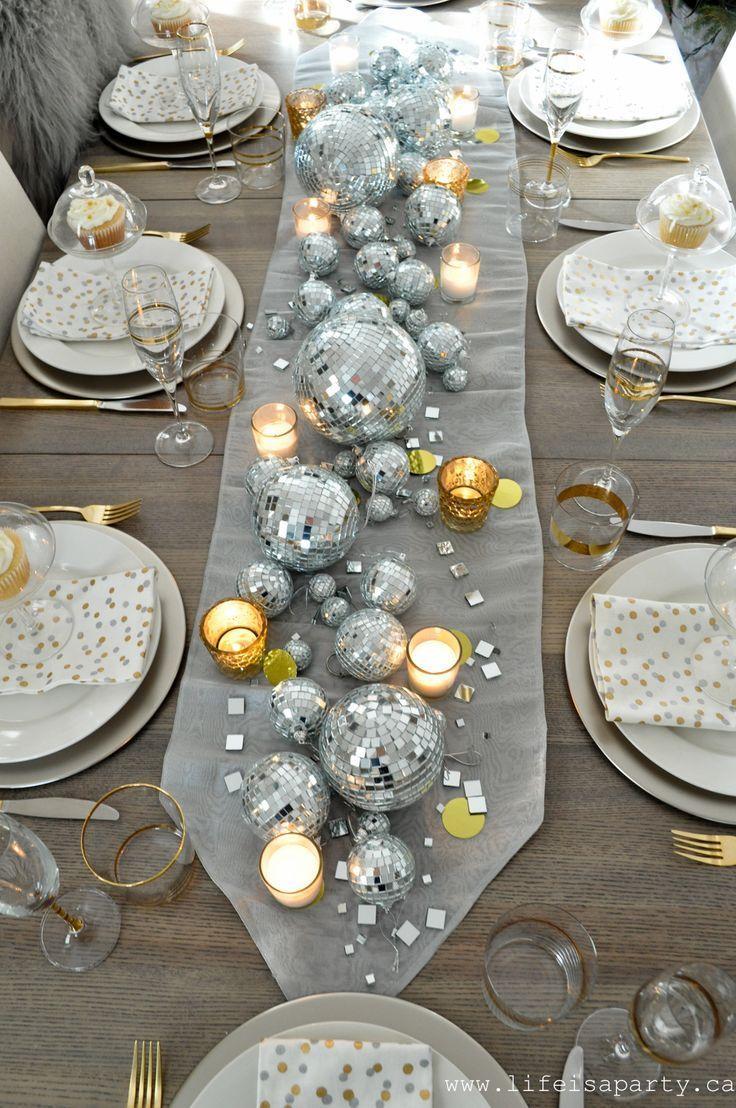 New Year's Eve Table   Рождественская сервировка стола ...