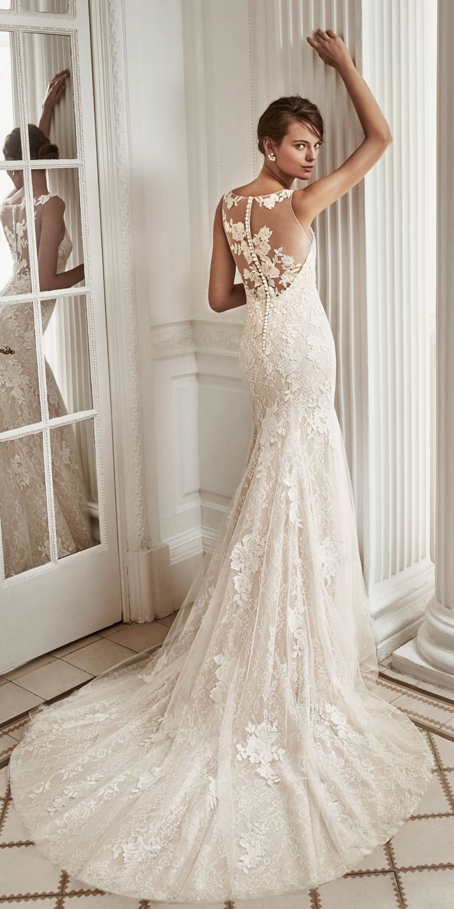 Elegantly stunning hawai from lunanovias bridal collection