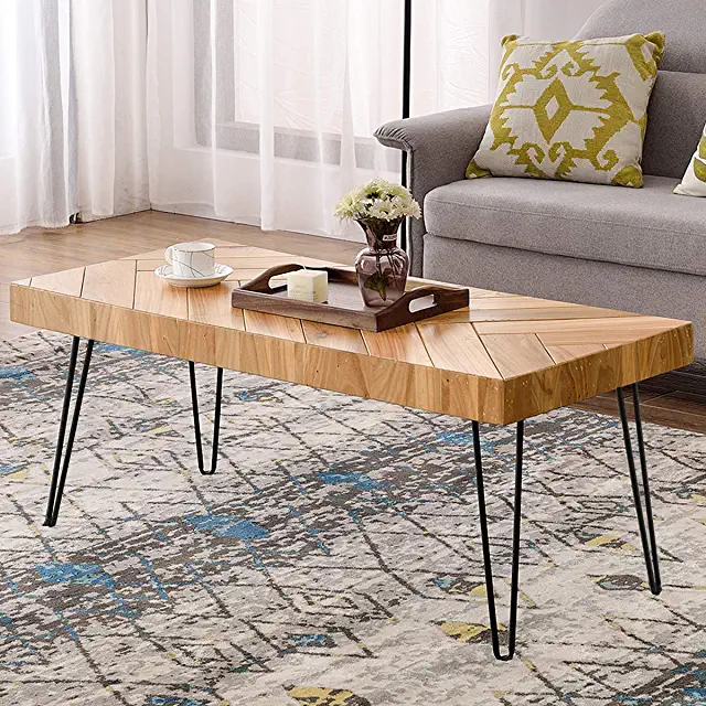 Amazon Com Hairpin Coffee Table In 2020 Coffee Table Coffee