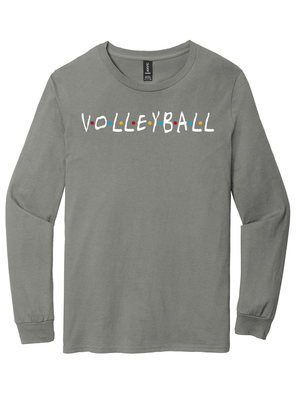 Friends Long Sleeve Shirt Midwest Volleyball Warehouse Long Sleeve Shirts Long Sleeve Hoodie Cropped Hoodie