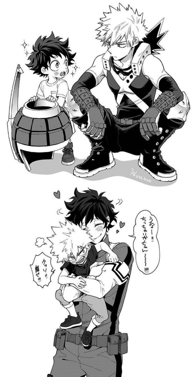 Bakudeku My Hero Hero Academia Characters My Hero Academia Manga