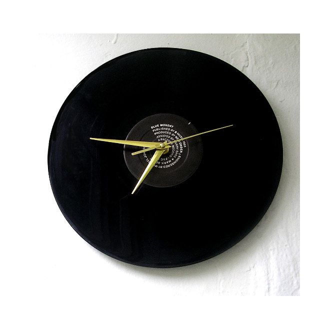 Handmade Vinyl Record Clock New Order Blue Monday 12 Inch Etsy Vinyl Record Clock Record Clock Vinyl Records