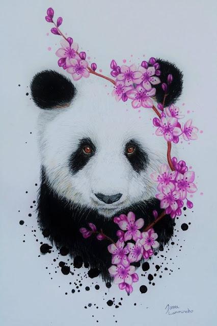 Pin By Anonim Anonimych On مدونة ليون Panda Art Panda Artwork Cute Panda Wallpaper
