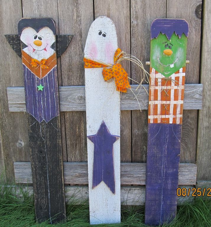 Halloween yard stake The Pickety Place Pinterest Yards, Craft - yard decorations for halloween